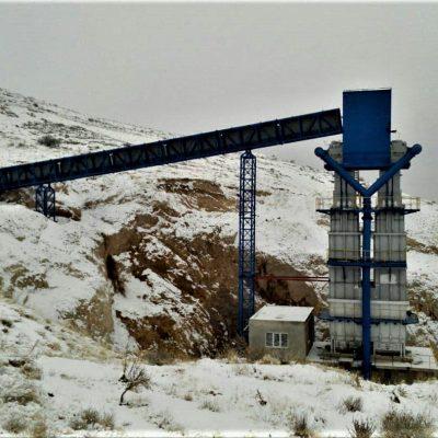 پروژه کارخانه آهک مراغه